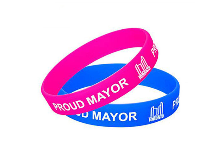 Logo Printing Custom Silicone Wristbands Colorful Adjustable Wristbands Promotional Items